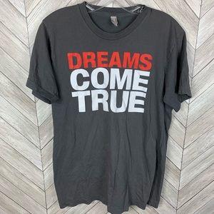 Dreams come true American apparel T-shirt